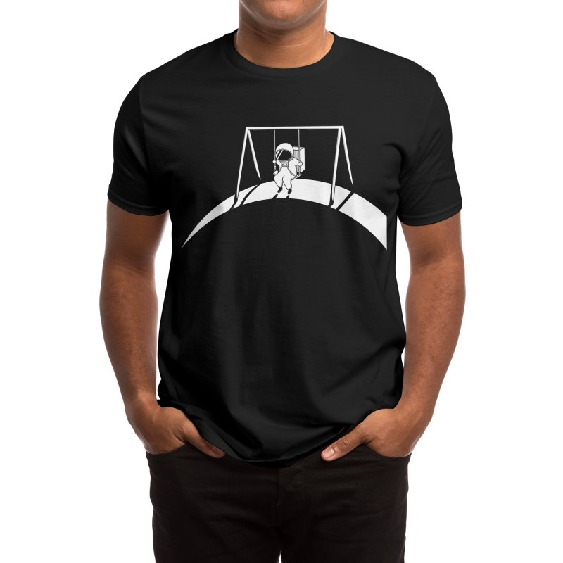 In Space No One will Push Your Swing Men's T-Shirt by agrimony // Aaron Thong