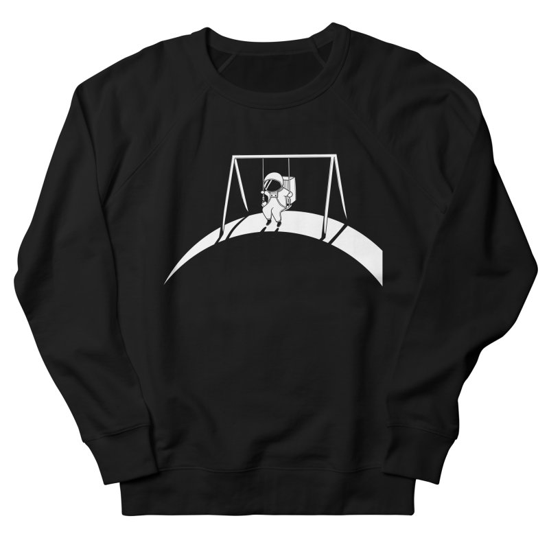 In Space No One will Push Your Swing Men's French Terry Sweatshirt by agrimony // Aaron Thong