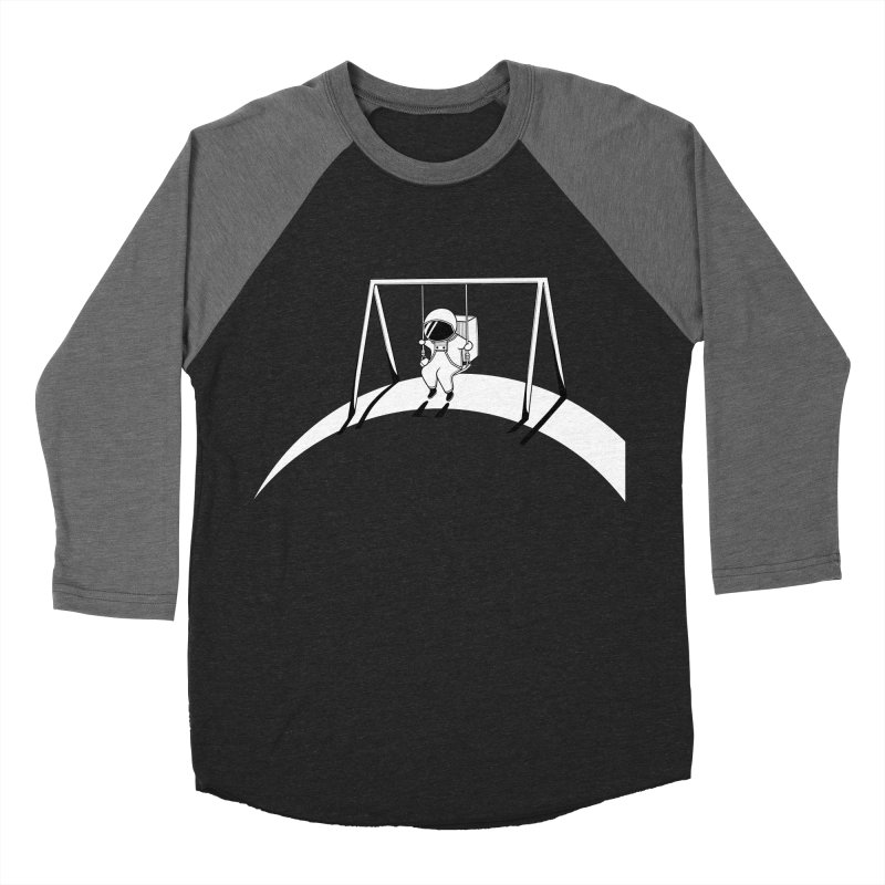 In Space No One will Push Your Swing Women's Baseball Triblend T-Shirt by agrimony // Aaron Thong
