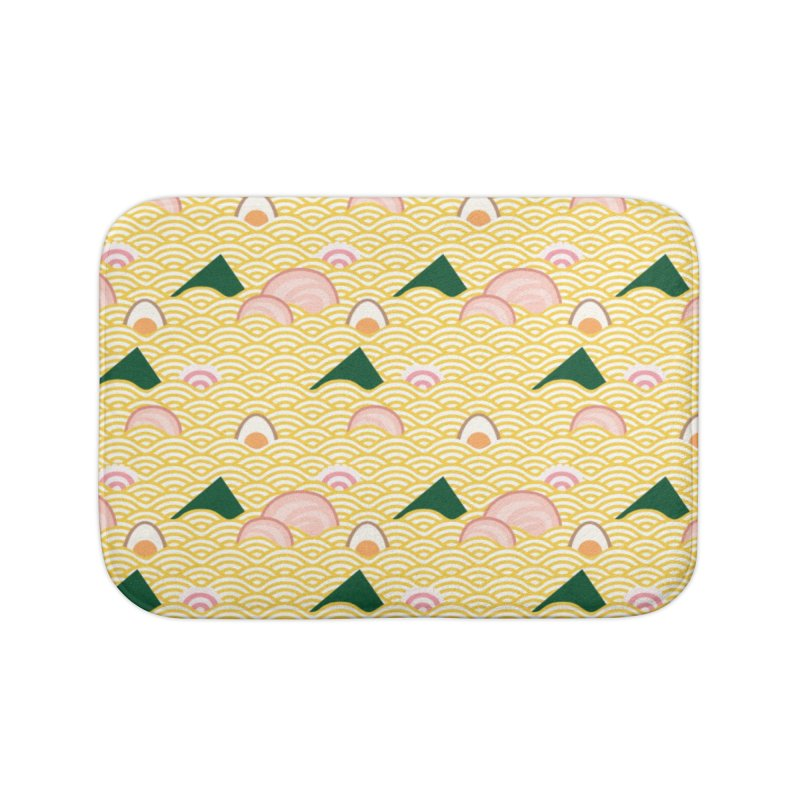 Ramen! Home Bath Mat by agrimony // Aaron Thong
