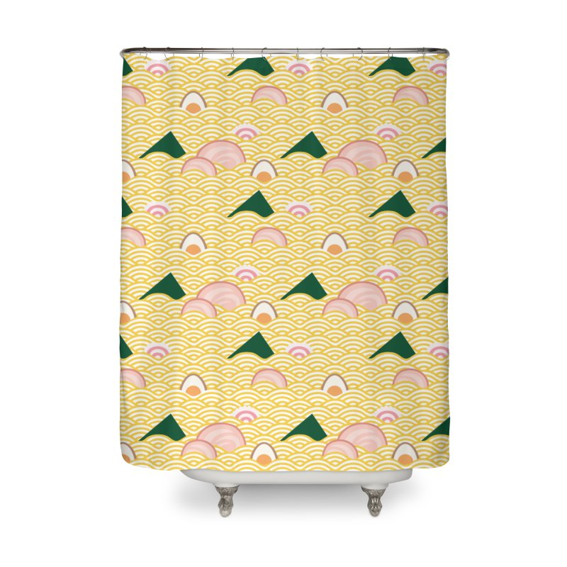 Ramen! Home Shower Curtain by agrimony // Aaron Thong