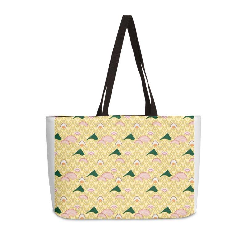 Ramen! Accessories Weekender Bag Bag by agrimony // Aaron Thong