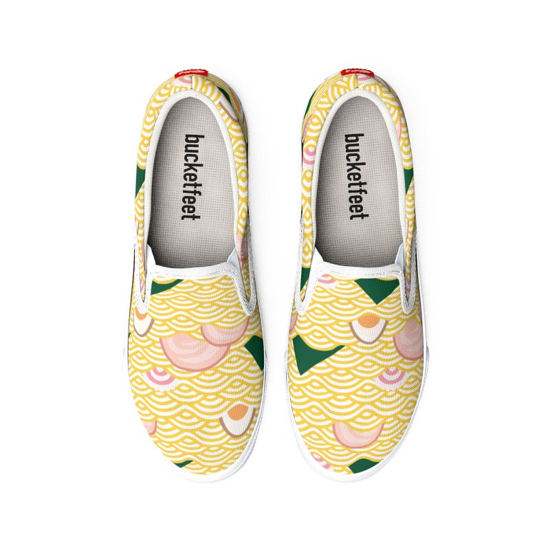 Ramen! Men's Shoes by agrimony // Aaron Thong