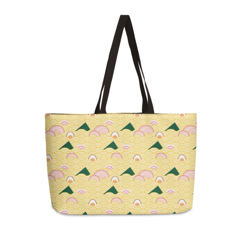 Ramen! Accessories Weekender Bag Bag by agrimony // Aaron Thong