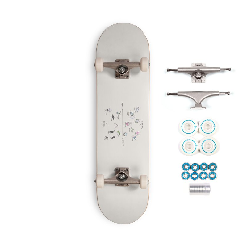 Science vs Magic Accessories Complete - Basic Skateboard by agrimony // Aaron Thong
