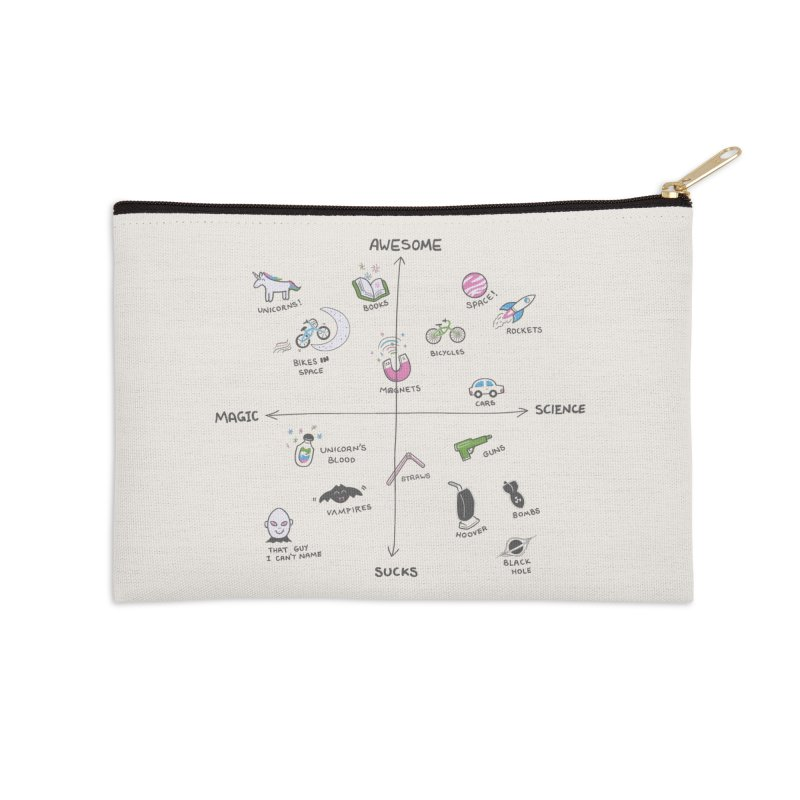 Science vs Magic Accessories Zip Pouch by agrimony // Aaron Thong