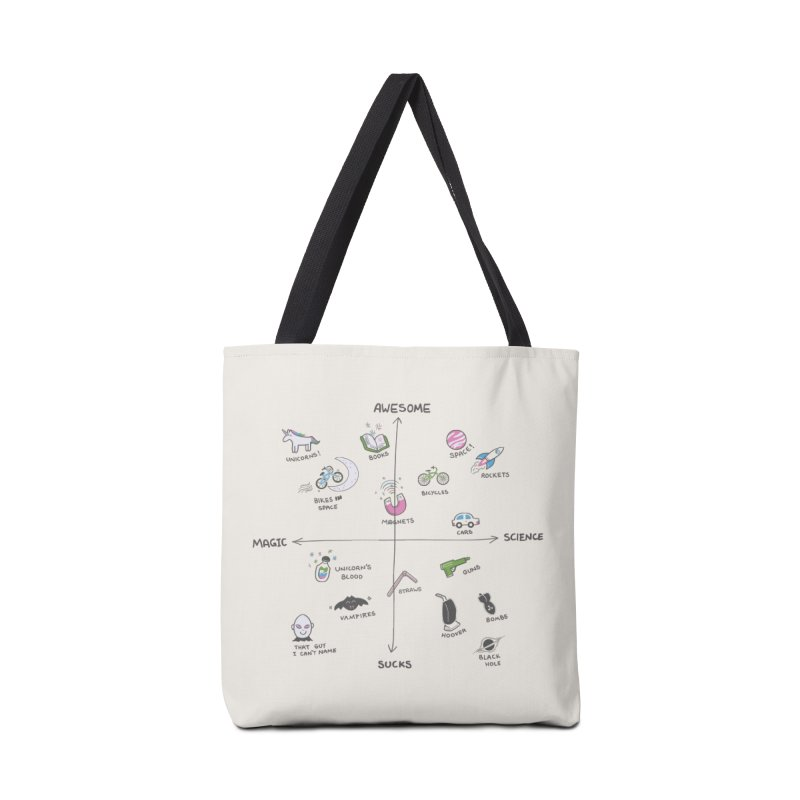Science vs Magic Accessories Bag by agrimony // Aaron Thong