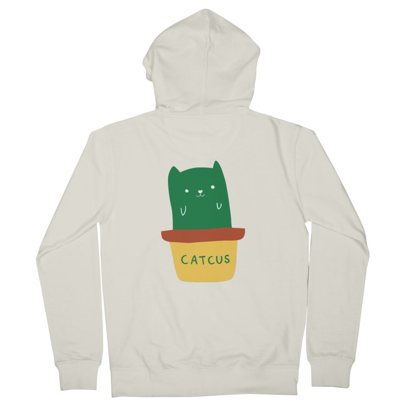 Catcus Women's Zip-Up Hoody by agrimony // Aaron Thong