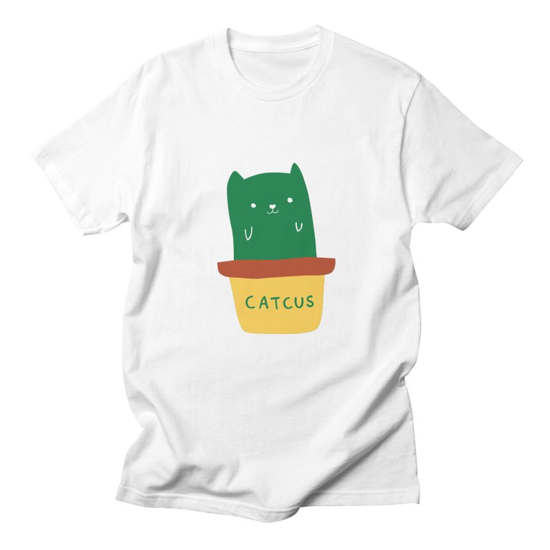 Catcus Men's T-shirt by agrimony // Aaron Thong