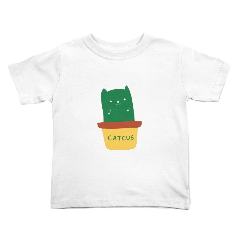 Catcus Kids Toddler T-Shirt by agrimony // Aaron Thong