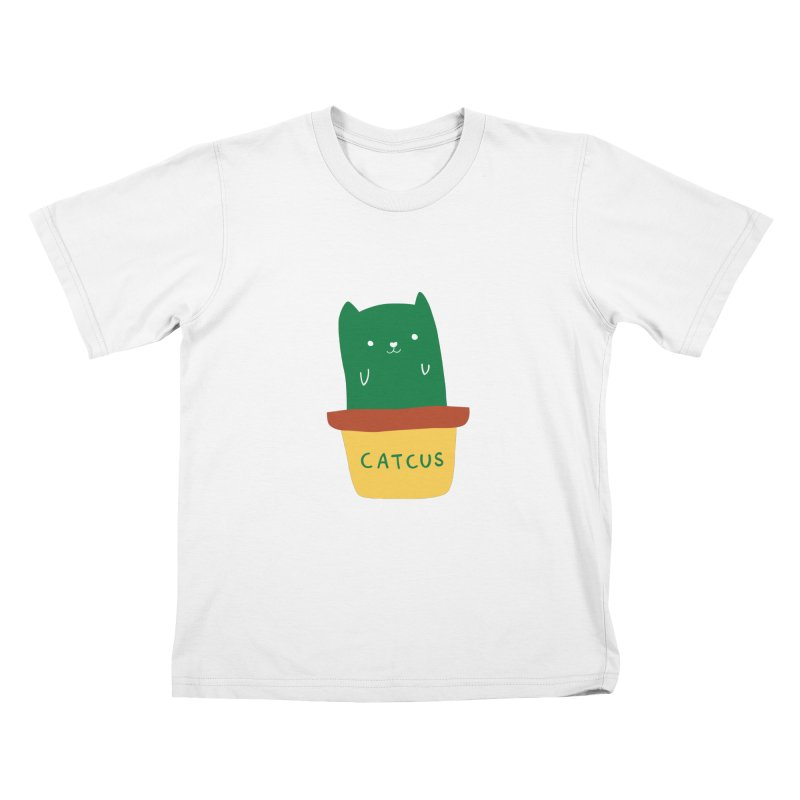 Catcus Kids T-Shirt by agrimony // Aaron Thong