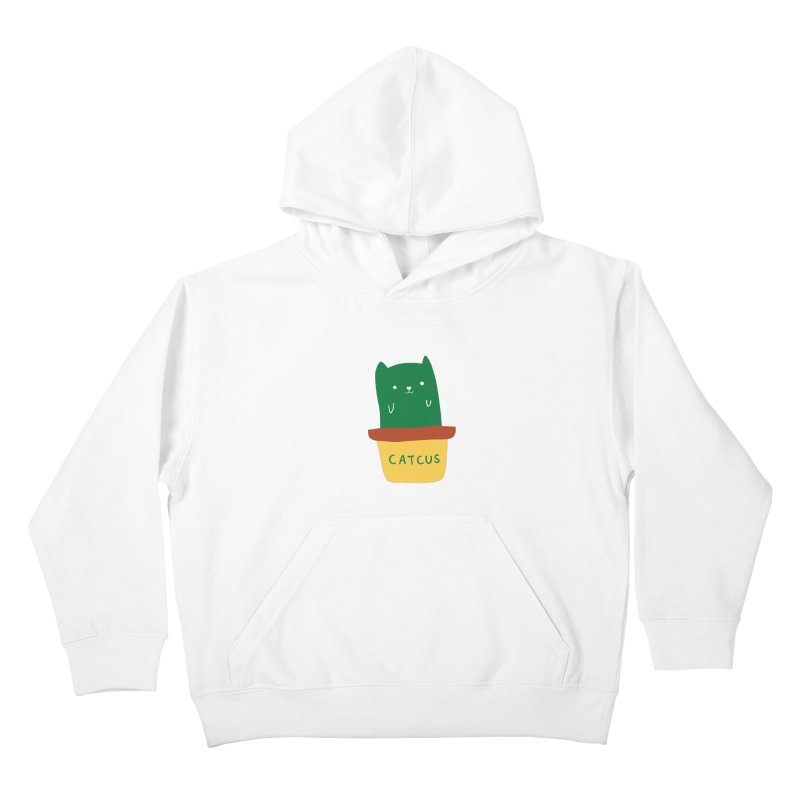 Catcus Kids Pullover Hoody by agrimony // Aaron Thong