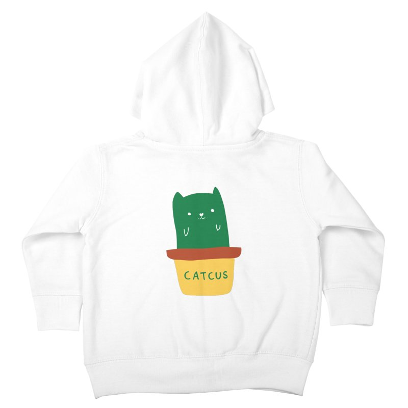 Catcus Kids Toddler Zip-Up Hoody by agrimony // Aaron Thong