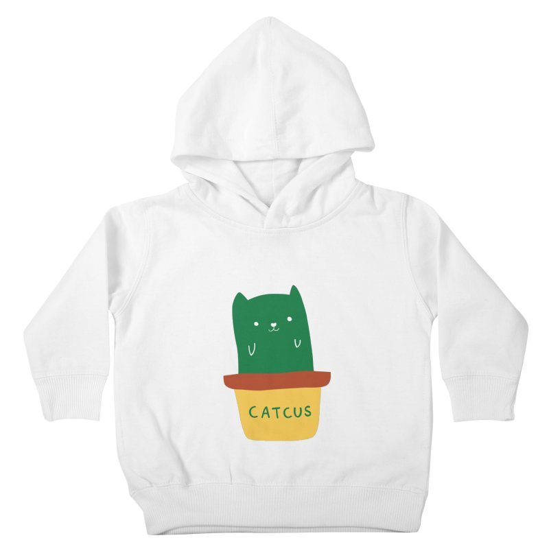 Catcus Kids Toddler Pullover Hoody by agrimony // Aaron Thong