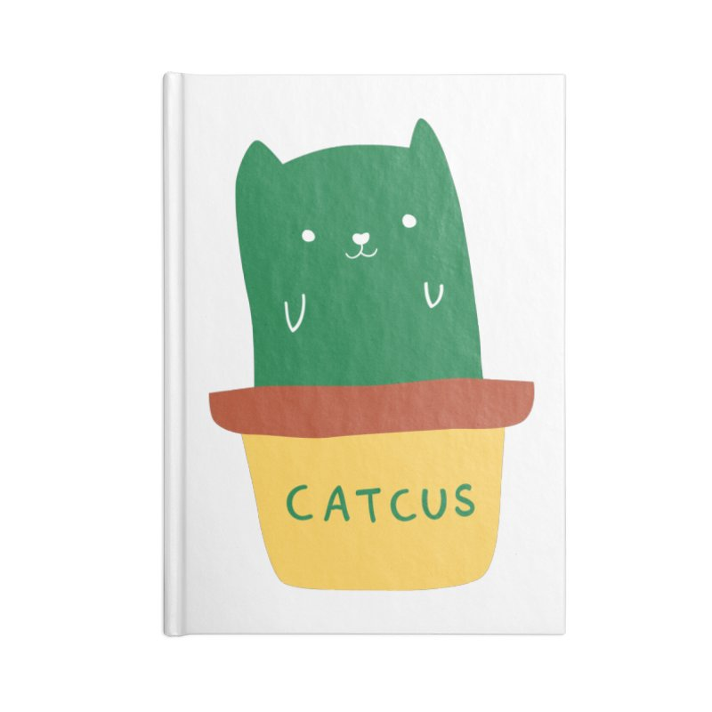 Catcus Accessories Blank Journal Notebook by agrimony // Aaron Thong