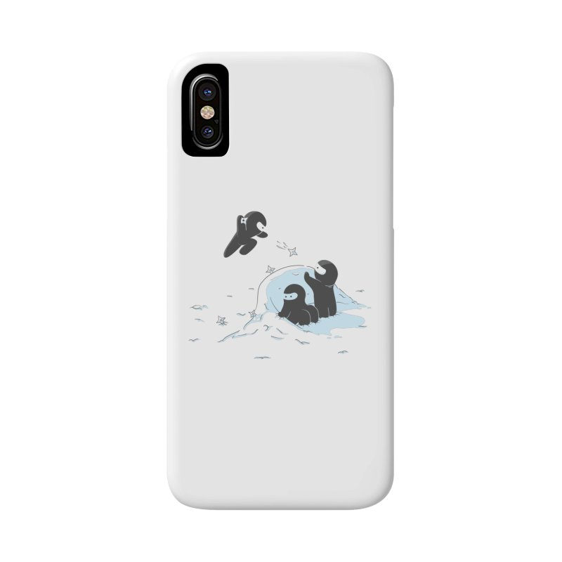 Ninjas don't camoflage well in winter Accessories Phone Case by agrimony // Aaron Thong