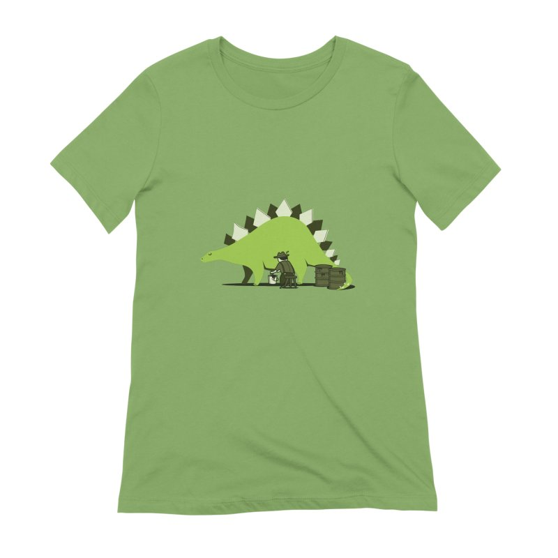 Crude oil origins Women's Extra Soft T-Shirt by agrimony // Aaron Thong