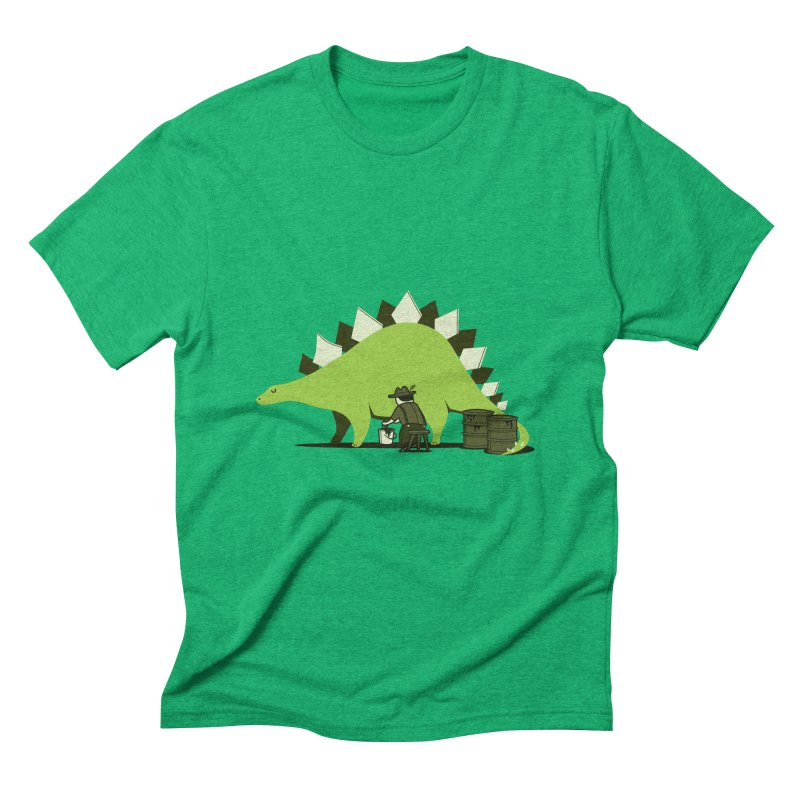 Crude oil origins Men's Triblend T-Shirt by agrimony // Aaron Thong