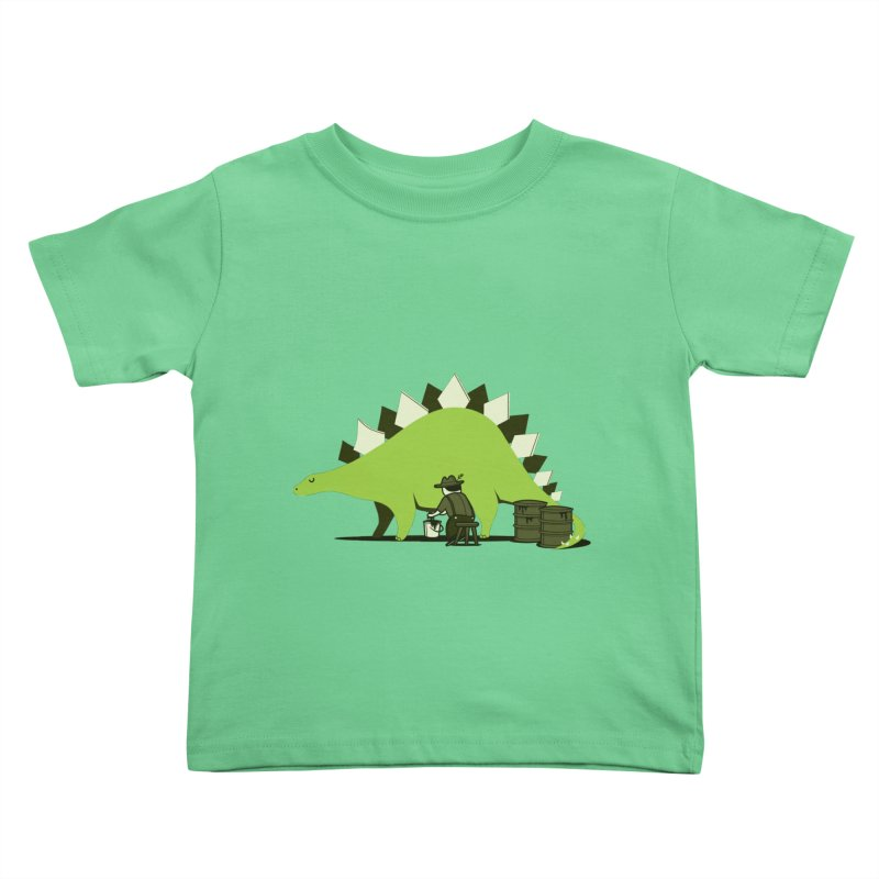 Crude oil origins Kids Toddler T-Shirt by agrimony // Aaron Thong