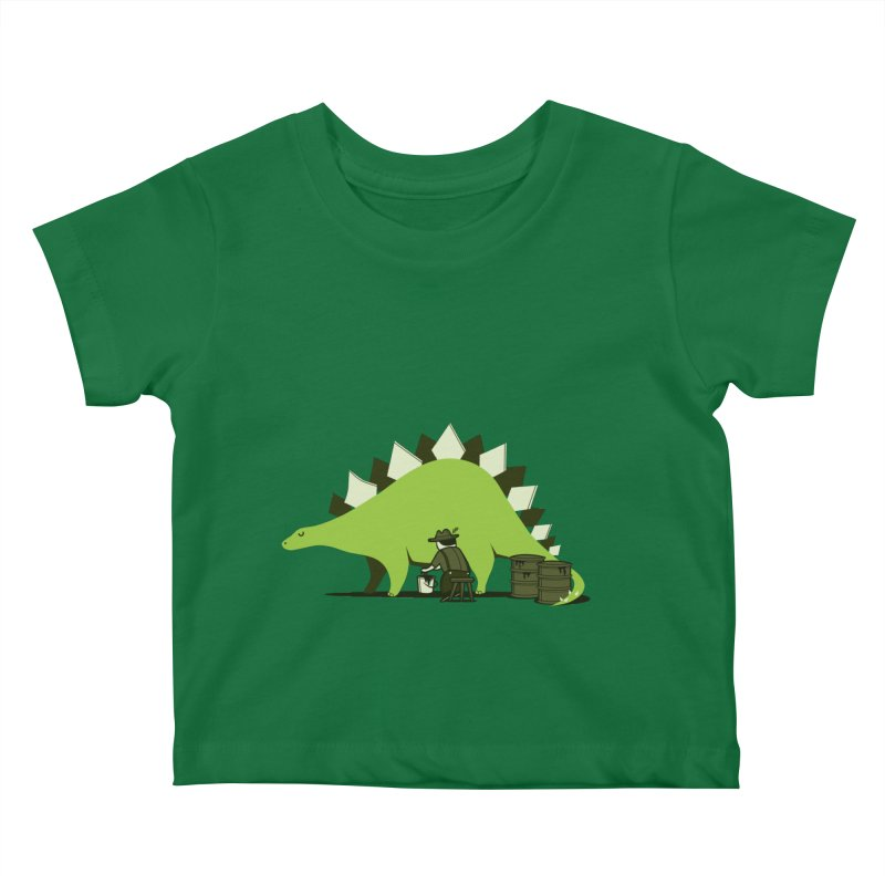 Crude oil origins Kids Baby T-Shirt by agrimony // Aaron Thong