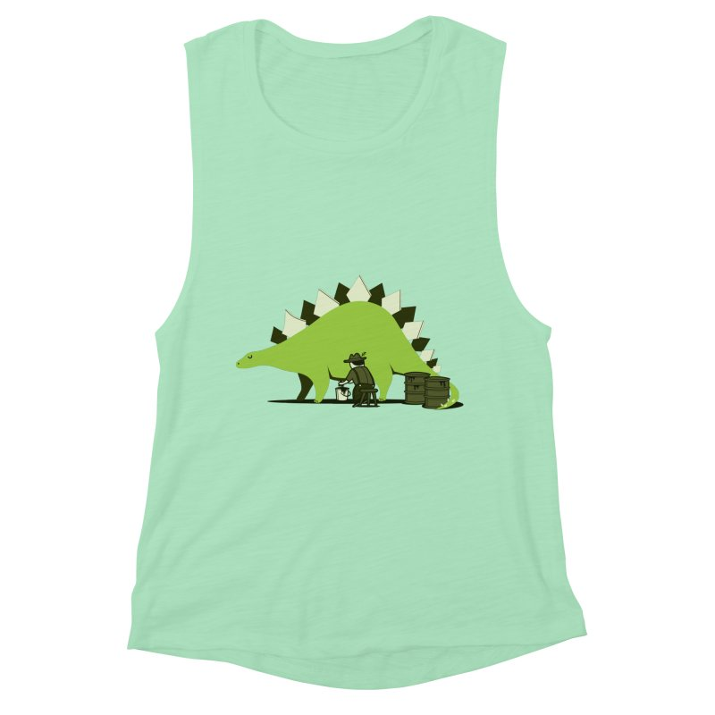 Crude oil origins Women's Muscle Tank by agrimony // Aaron Thong