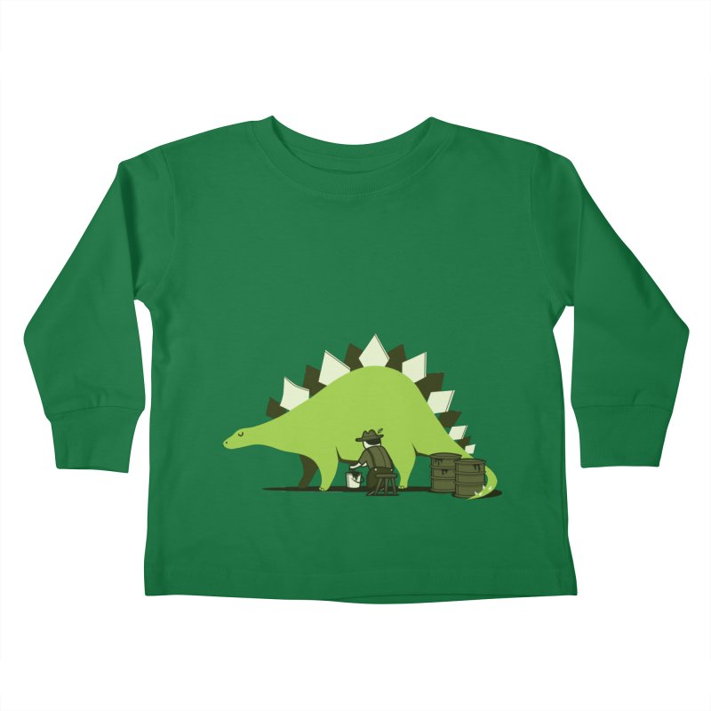 Crude oil origins Kids Toddler Longsleeve T-Shirt by agrimony // Aaron Thong