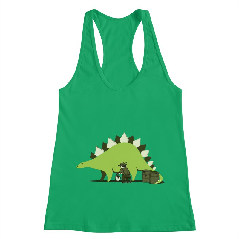 Crude oil origins Women's Racerback Tank by agrimony // Aaron Thong