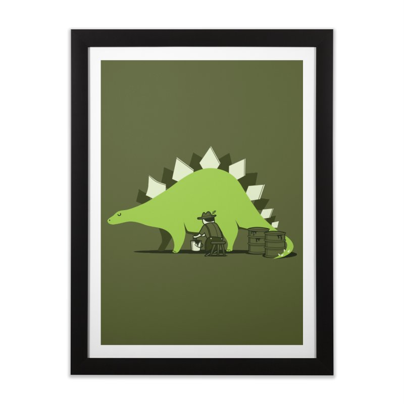 Crude oil origins Home Framed Fine Art Print by agrimony // Aaron Thong