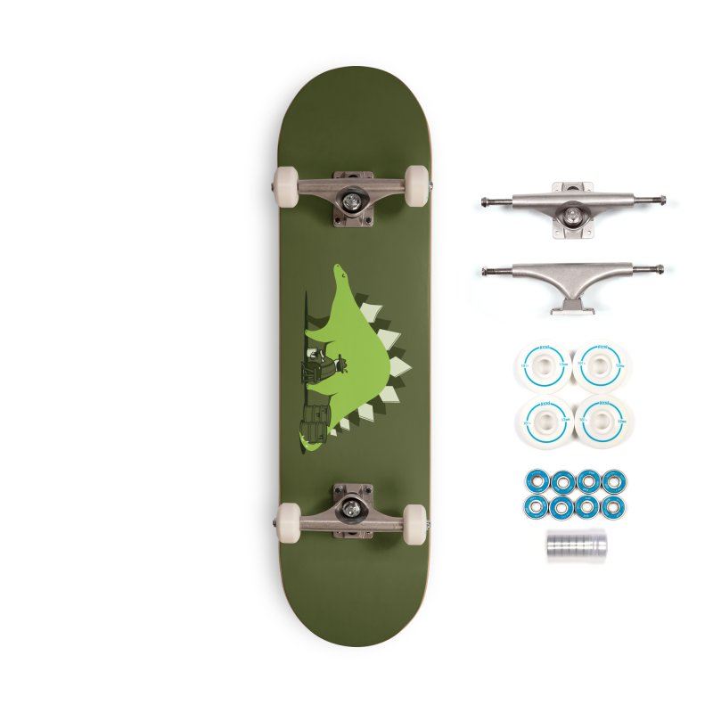 Crude oil origins Accessories Complete - Basic Skateboard by agrimony // Aaron Thong