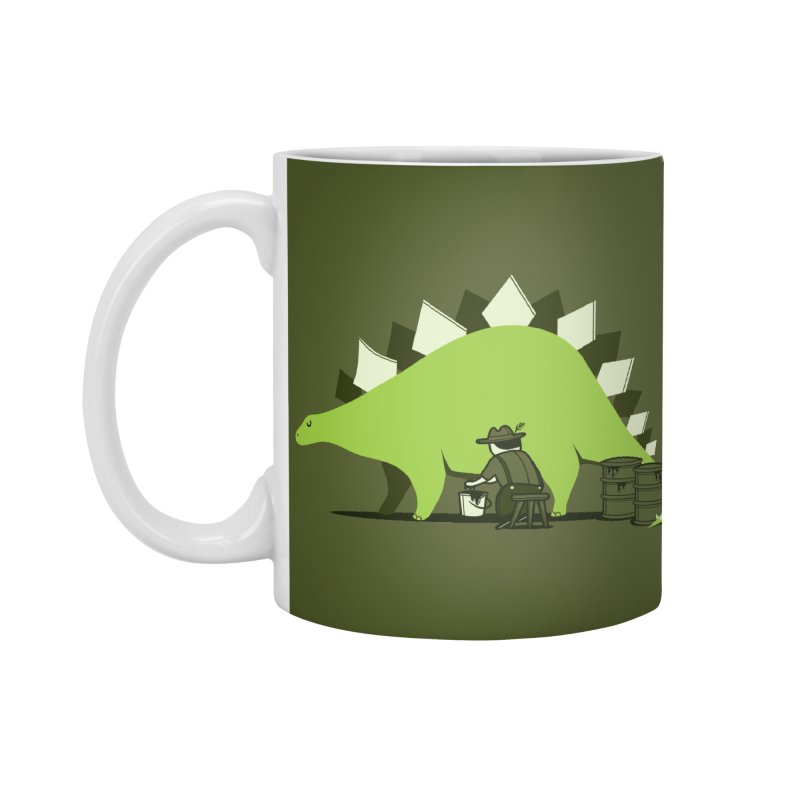Crude oil origins Accessories Standard Mug by agrimony // Aaron Thong