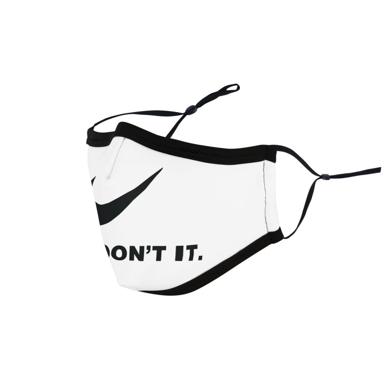 Just don't it Accessories Face Mask by agrimony // Aaron Thong