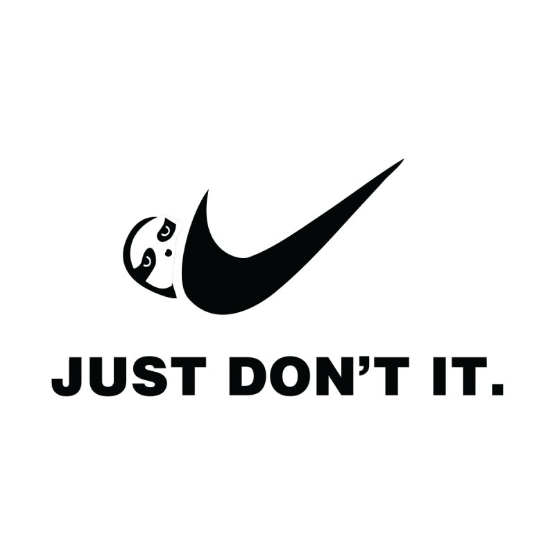 Just don't it Accessories Sticker by agrimony // Aaron Thong
