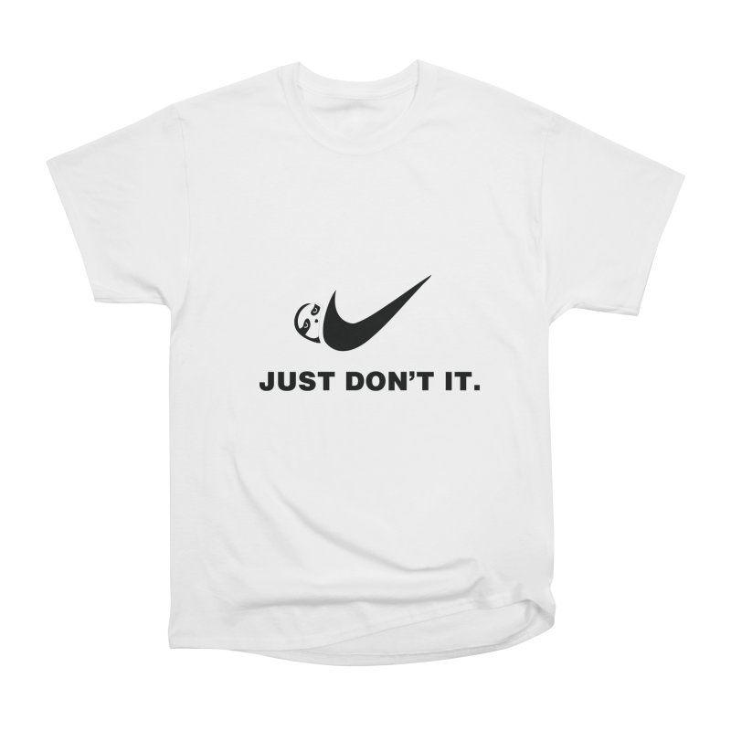 Just don't it Men's T-Shirt by agrimony // Aaron Thong