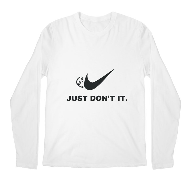 Just don't it Men's Regular Longsleeve T-Shirt by agrimony // Aaron Thong