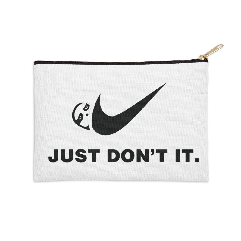 Just don't it Accessories Zip Pouch by agrimony // Aaron Thong