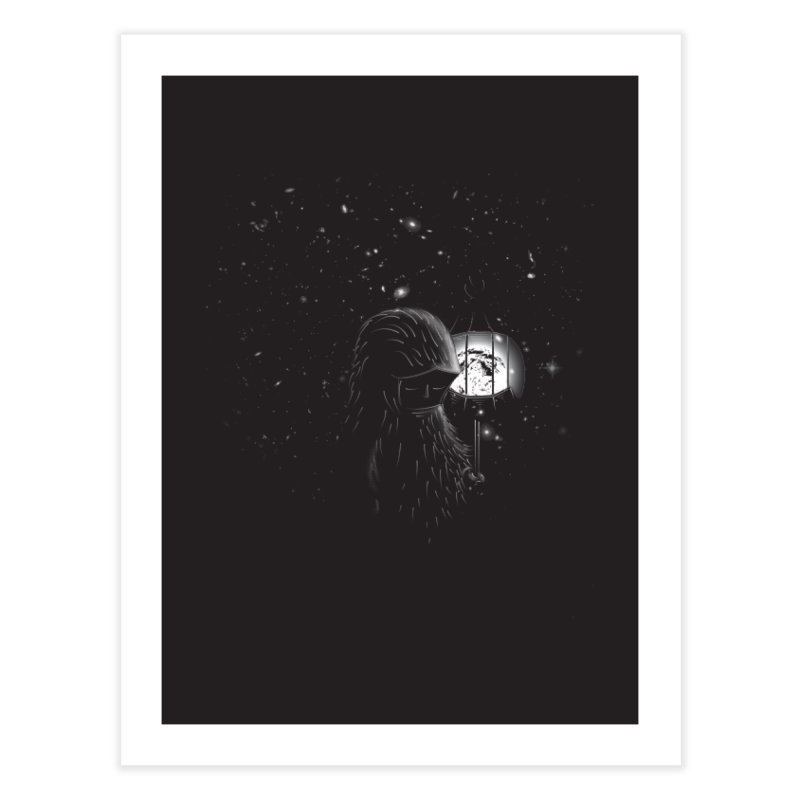 The Night Endless Home Fine Art Print by agrimony // Aaron Thong