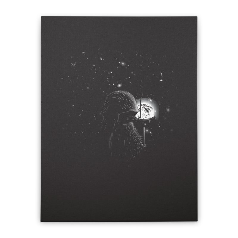 The Night Endless Home Stretched Canvas by agrimony // Aaron Thong