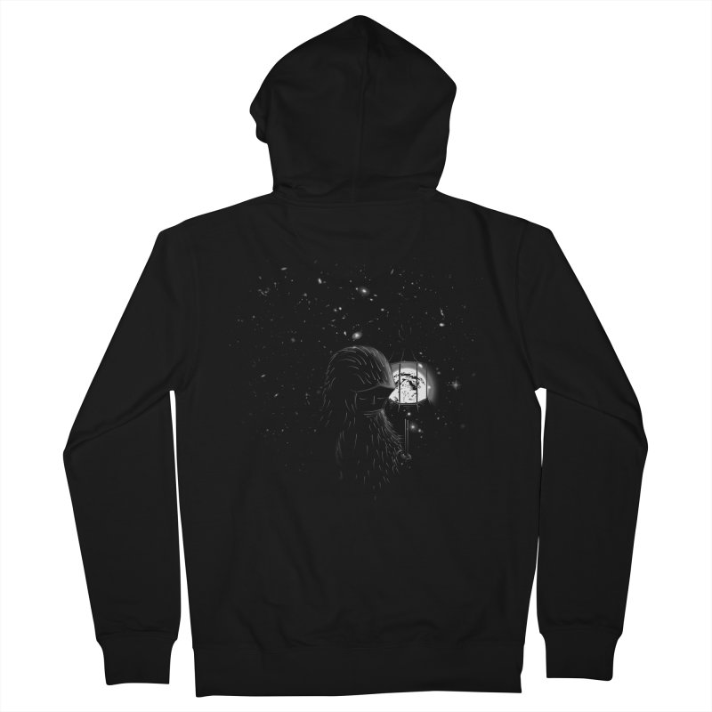 The Night Endless Men's French Terry Zip-Up Hoody by agrimony // Aaron Thong