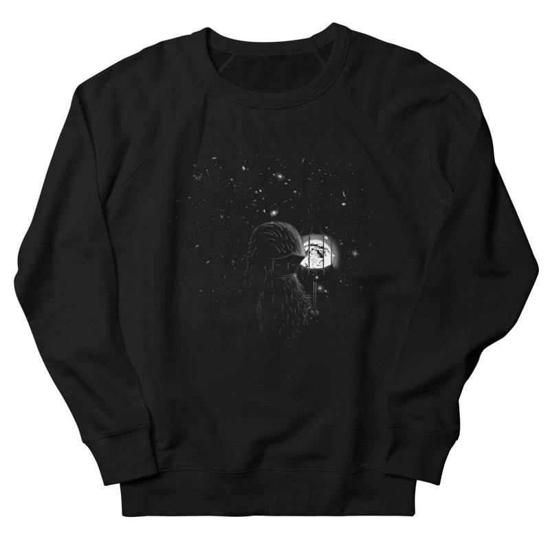 The Night Endless Men's French Terry Sweatshirt by agrimony // Aaron Thong