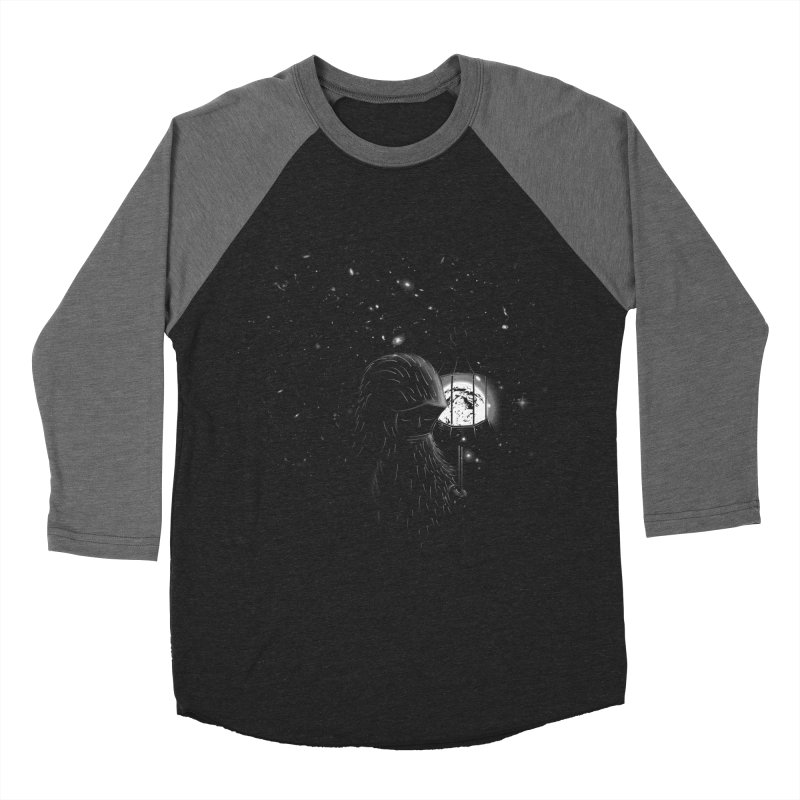 The Night Endless Men's Baseball Triblend Longsleeve T-Shirt by agrimony // Aaron Thong