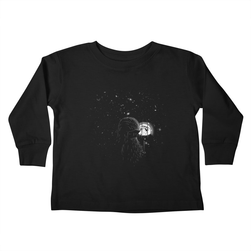 The Night Endless Kids Toddler Longsleeve T-Shirt by agrimony // Aaron Thong