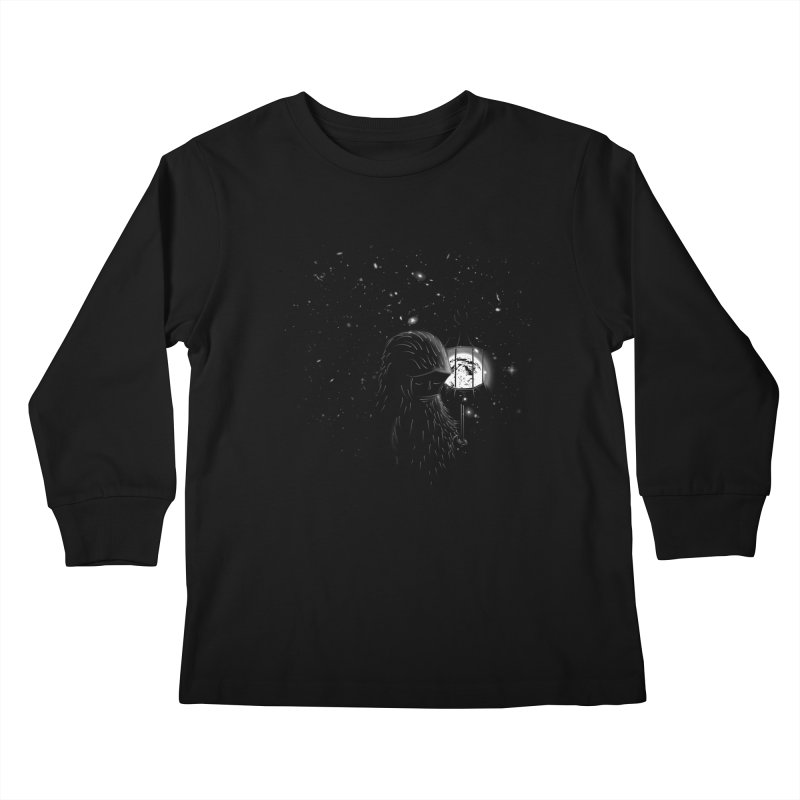 The Night Endless Kids Longsleeve T-Shirt by agrimony // Aaron Thong