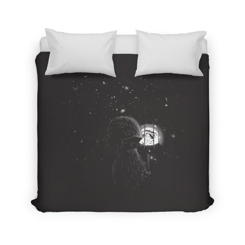 The Night Endless Home Duvet by agrimony // Aaron Thong