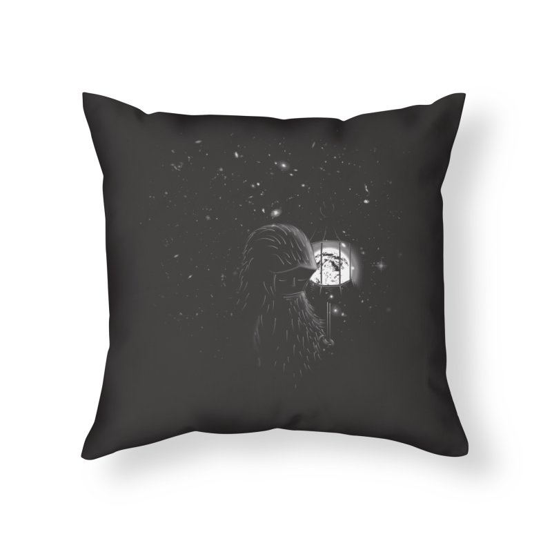The Night Endless Home Throw Pillow by agrimony // Aaron Thong