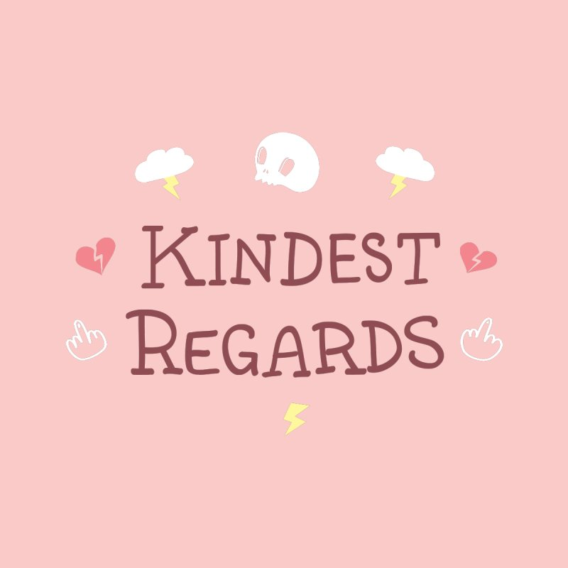 Kindest Regards Home Stretched Canvas by agrimony // Aaron Thong
