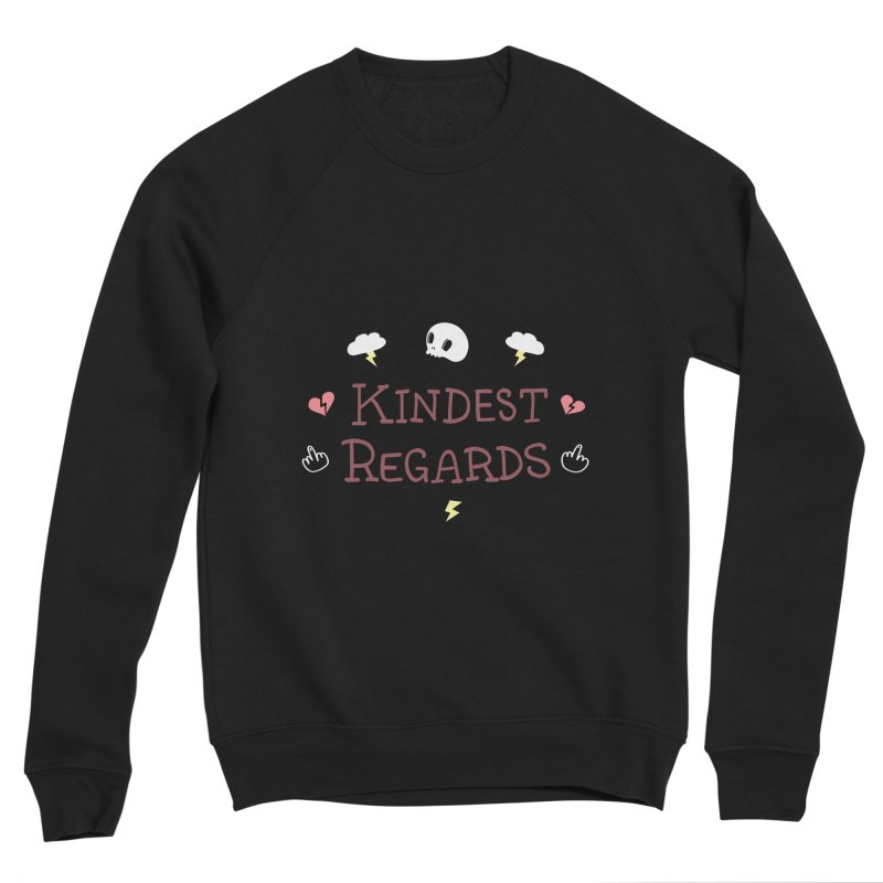 Kindest Regards Men's Sponge Fleece Sweatshirt by agrimony // Aaron Thong