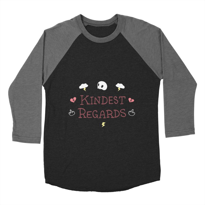 Kindest Regards Women's Longsleeve T-Shirt by agrimony // Aaron Thong