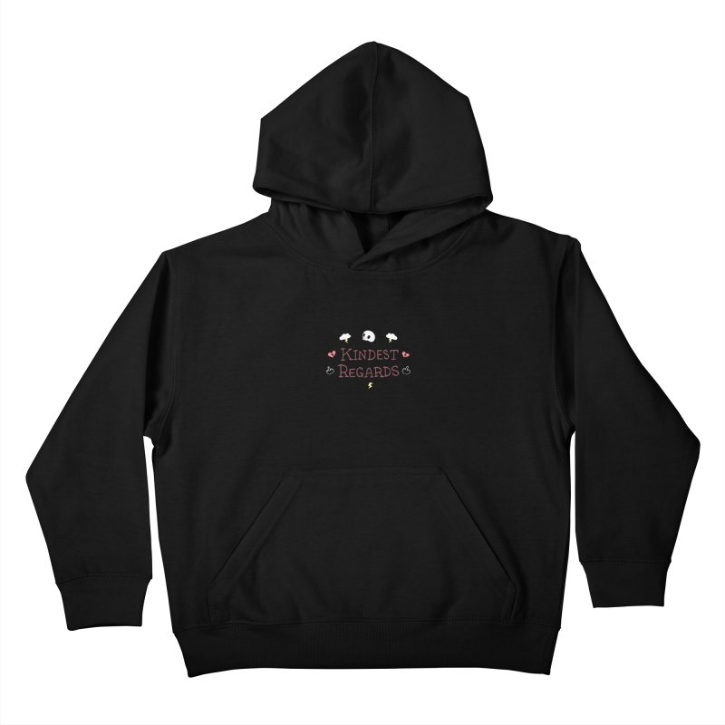 Kindest Regards Kids Pullover Hoody by agrimony // Aaron Thong