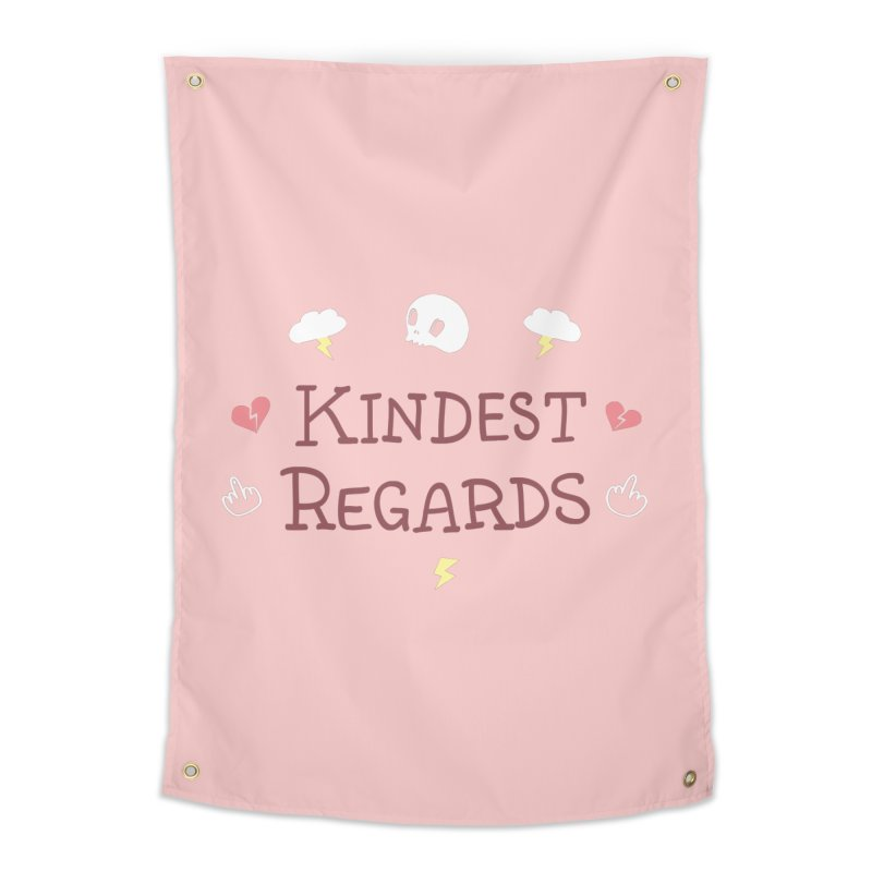 Kindest Regards Home Tapestry by agrimony // Aaron Thong