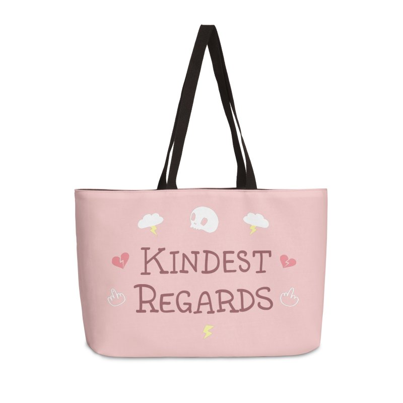 Kindest Regards Accessories Weekender Bag Bag by agrimony // Aaron Thong